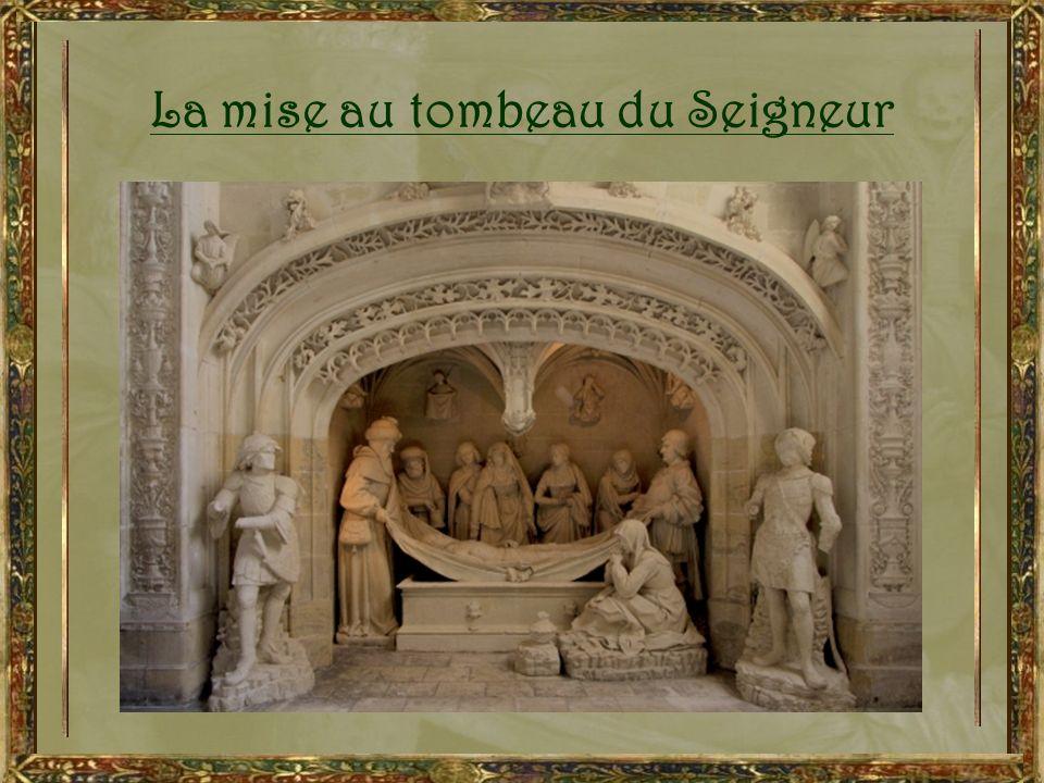 La mise au tombeau du Seigneur
