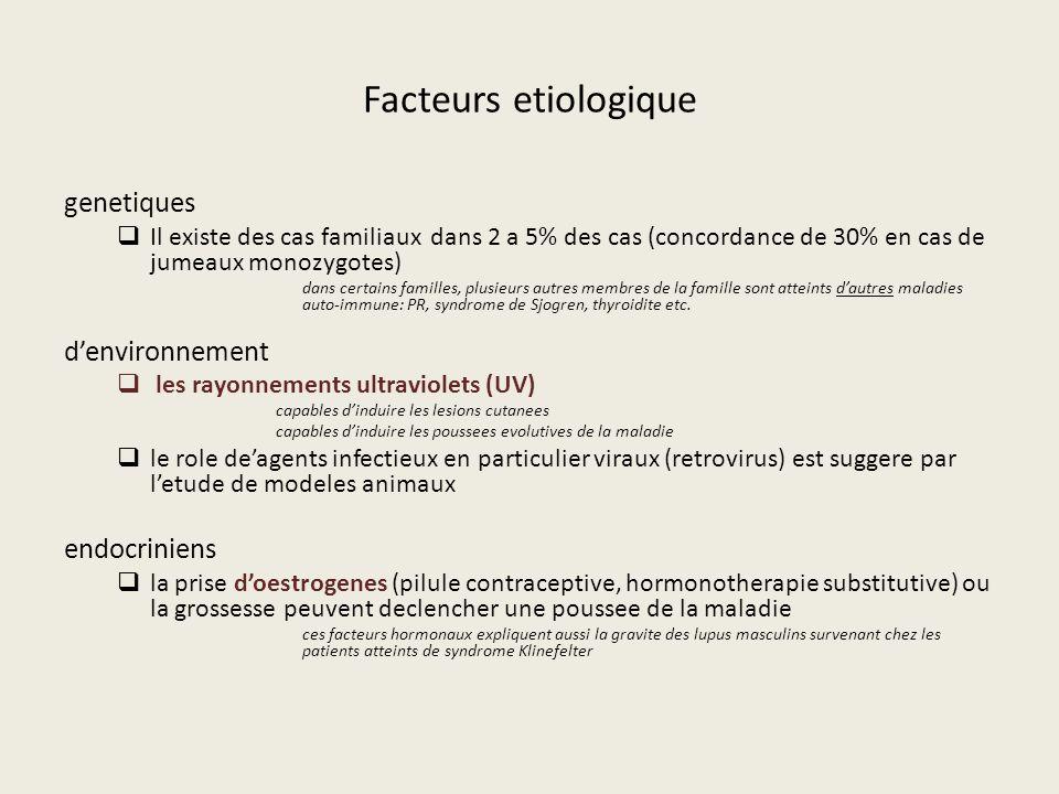 Facteurs etiologique genetiques d'environnement endocriniens