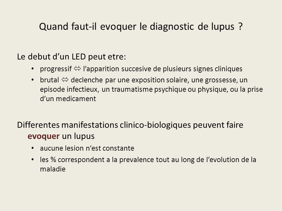 Lupus erythemateux dissemine led ppt video online for Quand faut il tailler l olivier