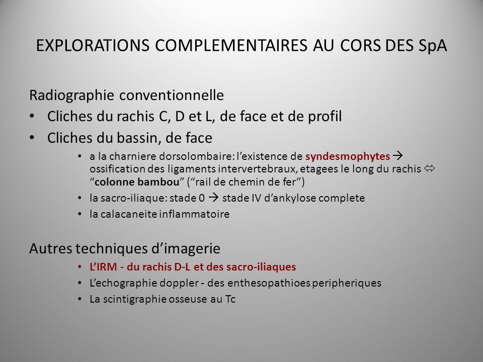 EXPLORATIONS COMPLEMENTAIRES AU CORS DES SpA