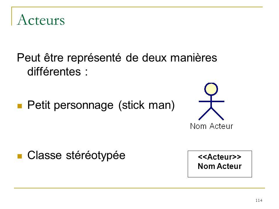 <<Acteur>>