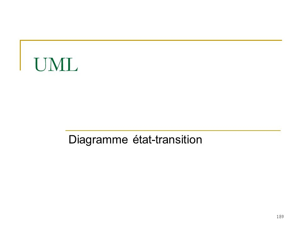 Diagramme état-transition