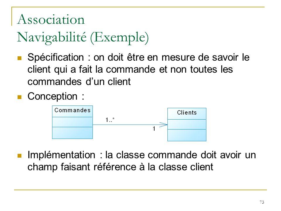 Association Navigabilité (Exemple)