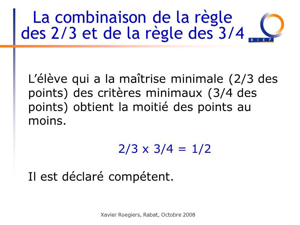 La combinaison de la règle des 2/3 et de la règle des 3/4