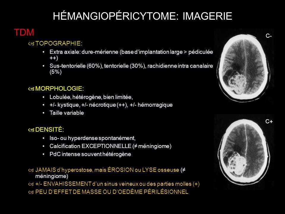 HÉMANGIOPÉRICYTOME: IMAGERIE