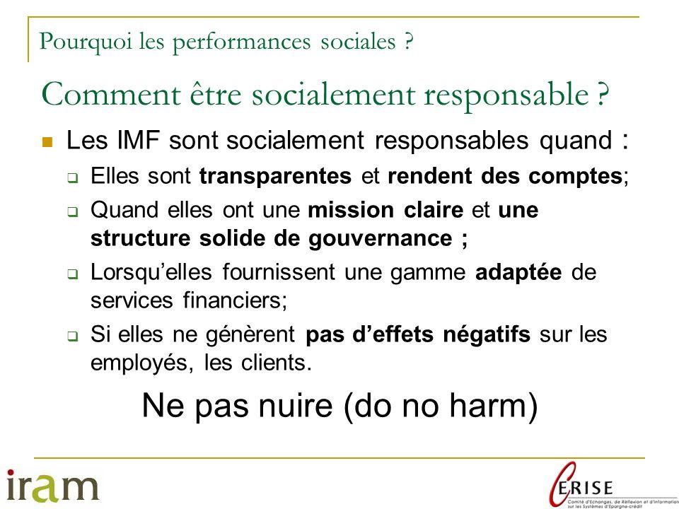 Comment être socialement responsable