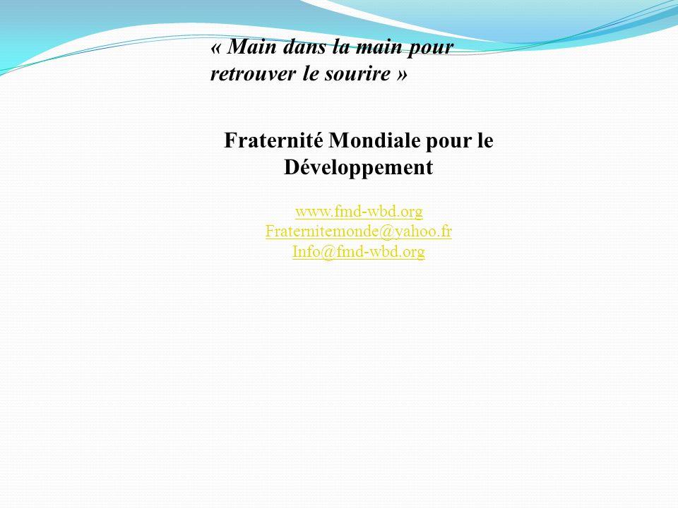 Fraternité Mondiale pour le Développement