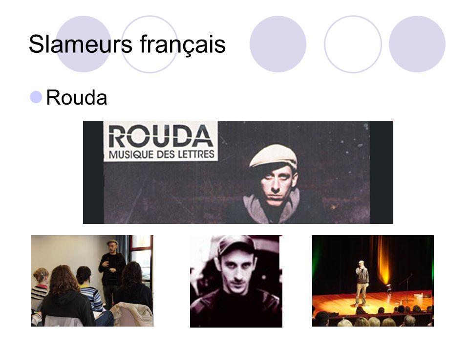 Slameurs français Rouda