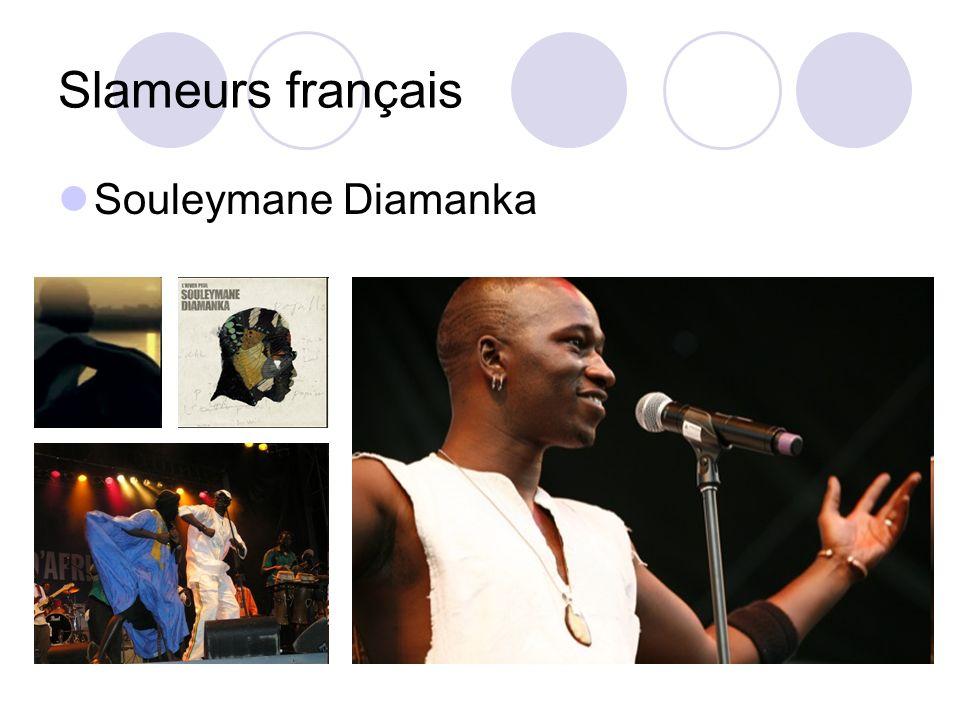 Slameurs français Souleymane Diamanka