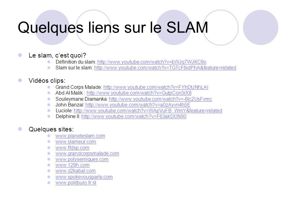 Quelques liens sur le SLAM