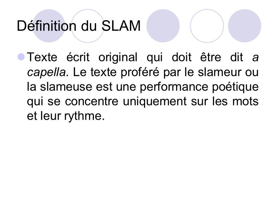 Définition du SLAM