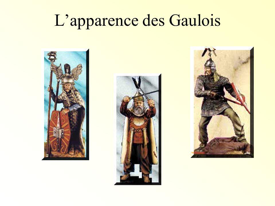 L'apparence des Gaulois