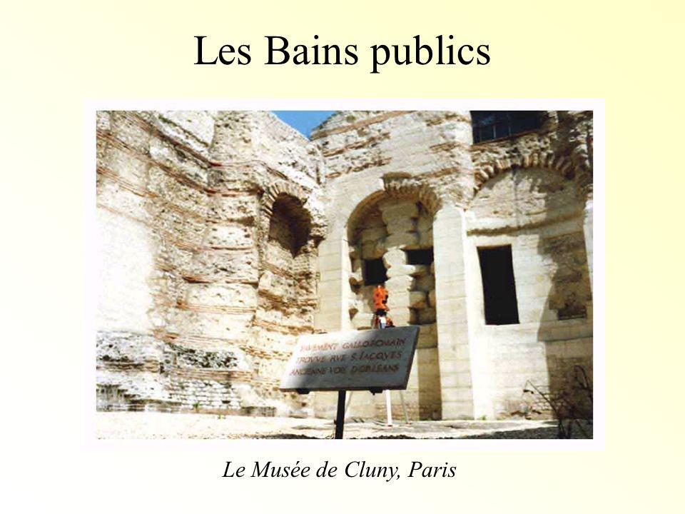 Les Bains publics Le Musée de Cluny, Paris
