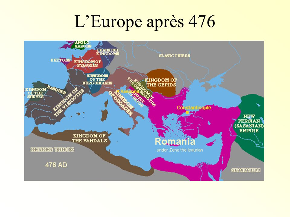 L'Europe après 476