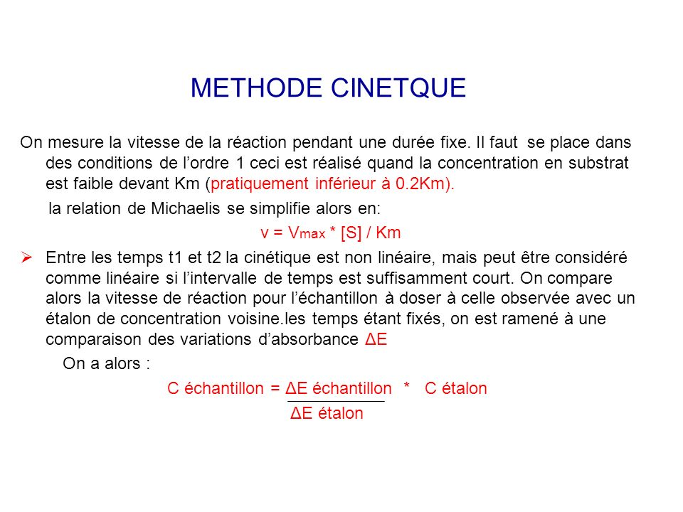 METHODE CINETQUE