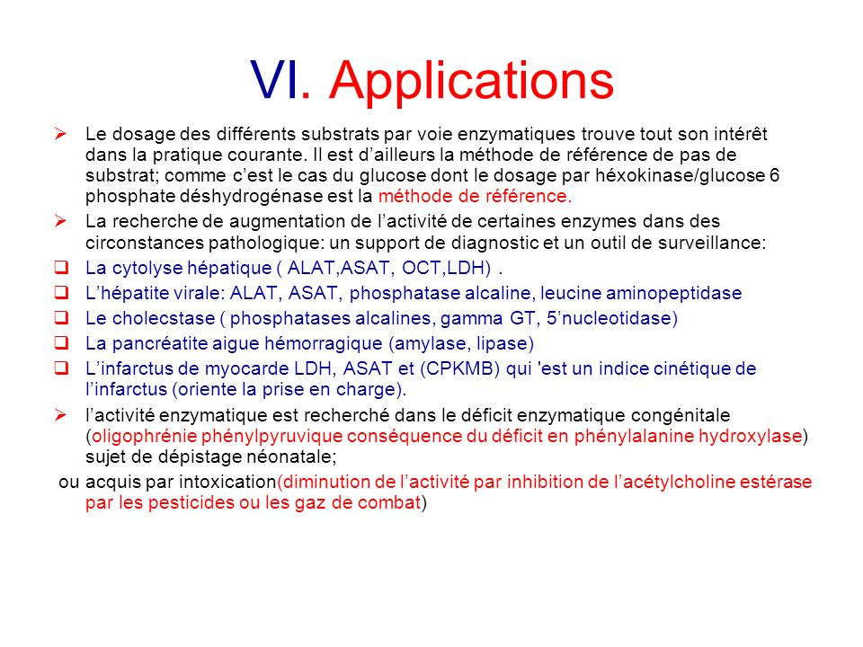 VI. Applications