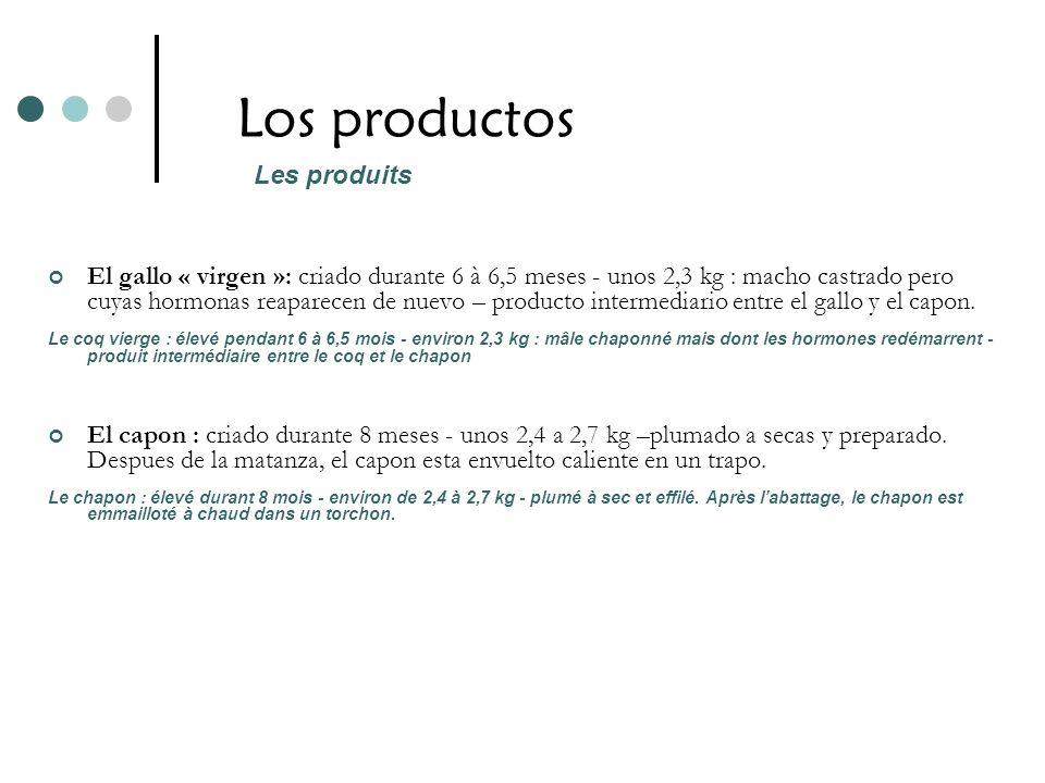 Los productos Les produits