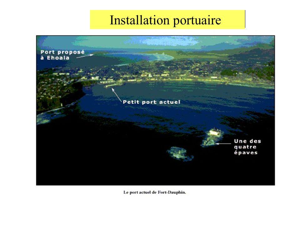 Installation portuaire