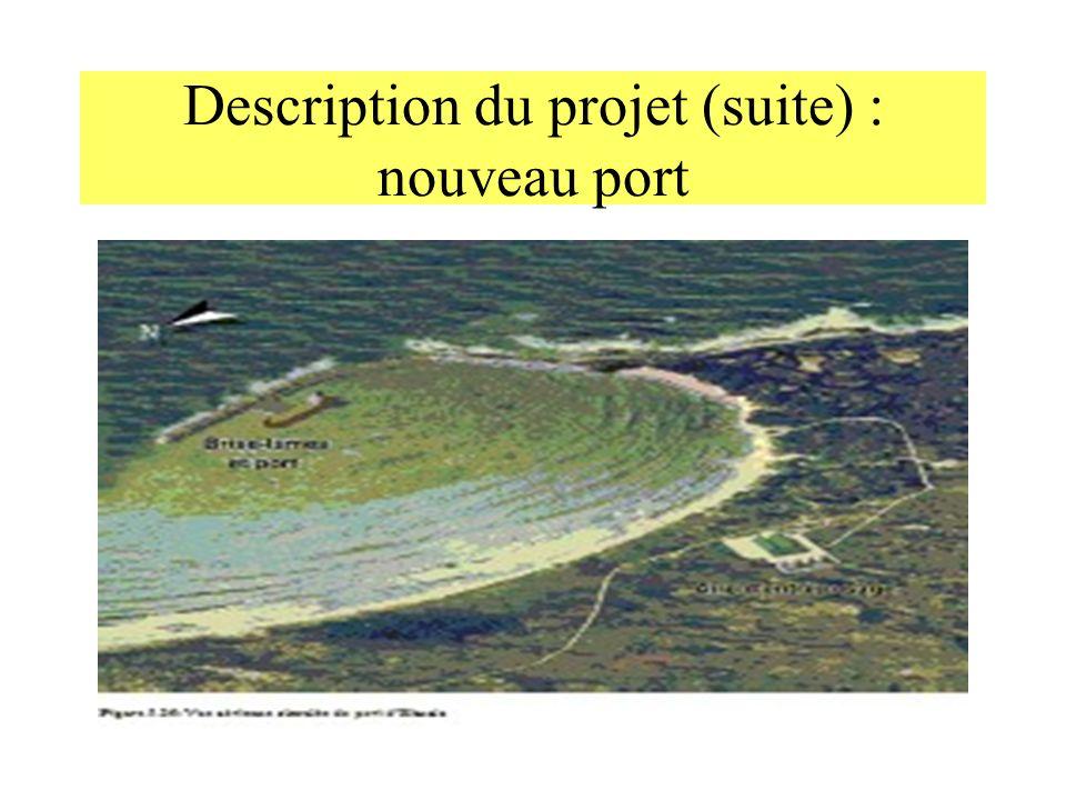Description du projet (suite) : nouveau port