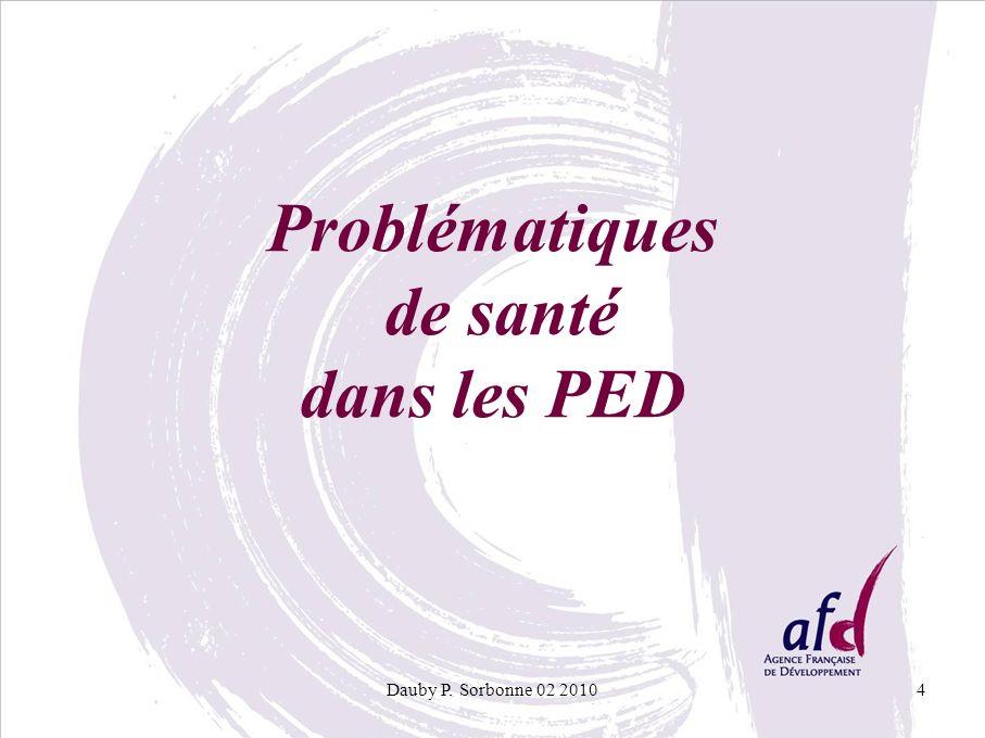 Problématiques de santé dans les PED