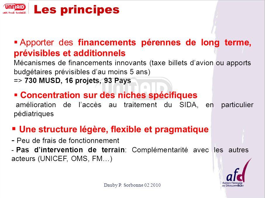 Les principes Une structure légère, flexible et pragmatique