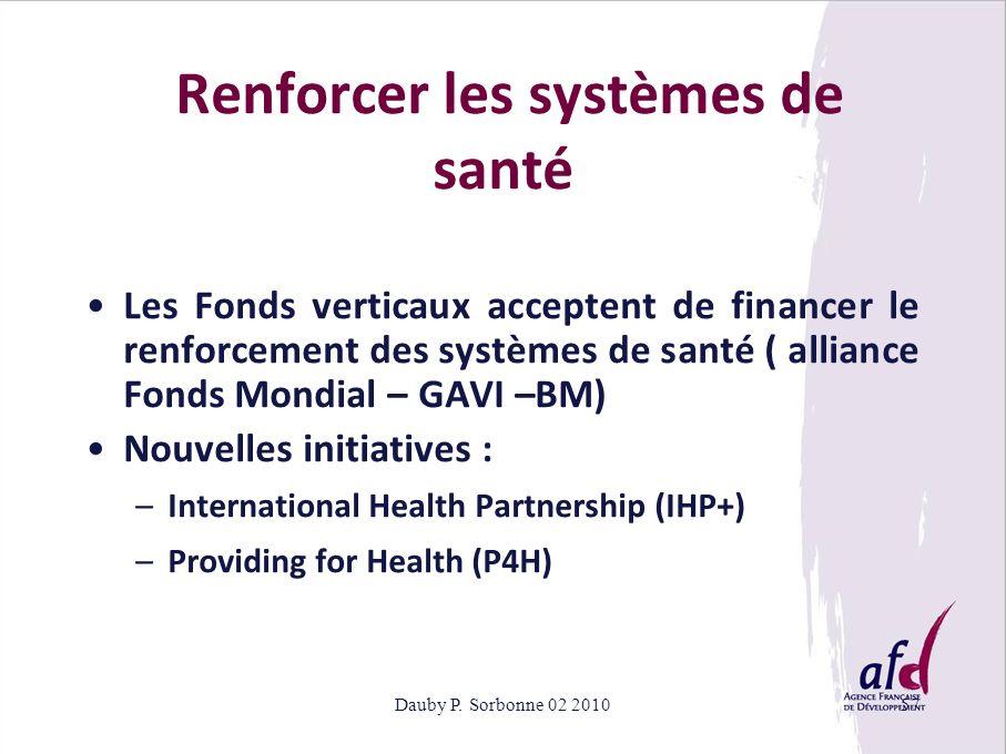 Renforcer les systèmes de santé