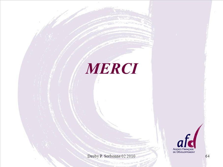 MERCI Dauby P. Sorbonne 02 2010