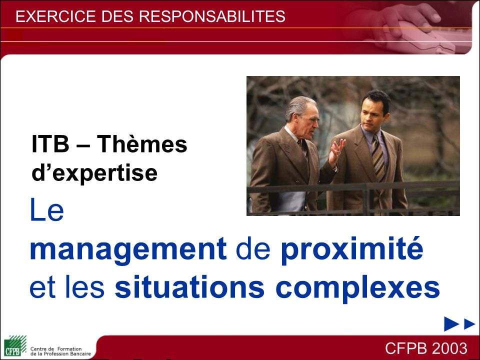 management de proximité et les situations complexes