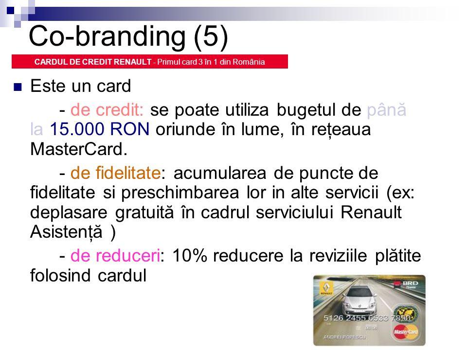 CARDUL DE CREDIT RENAULT - Primul card 3 în 1 din România