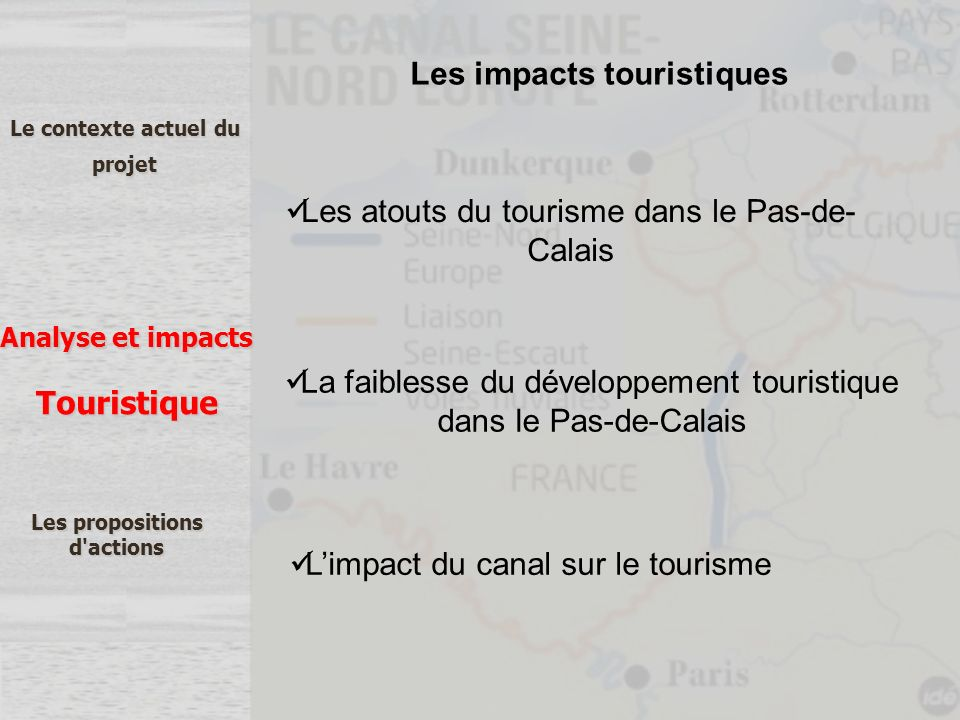 Les impacts touristiques