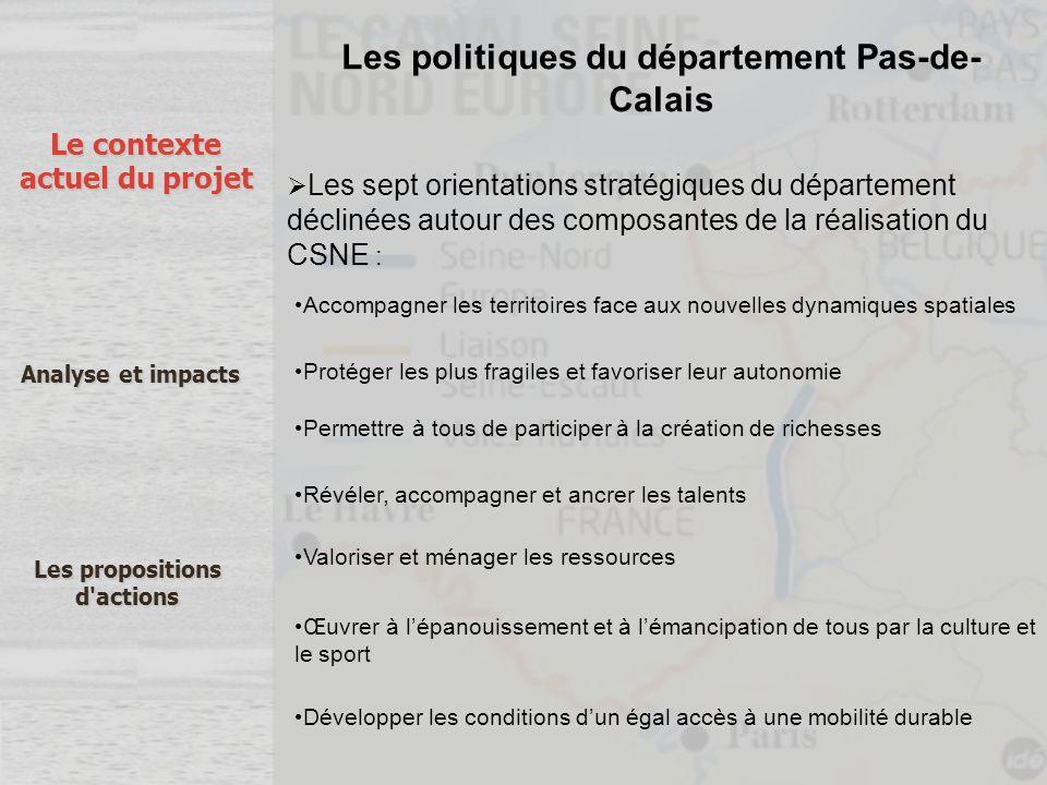 Les politiques du département Pas-de-Calais
