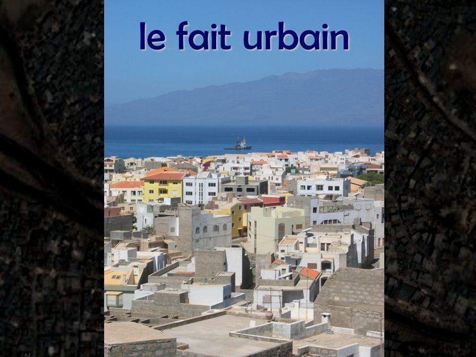 le fait urbain