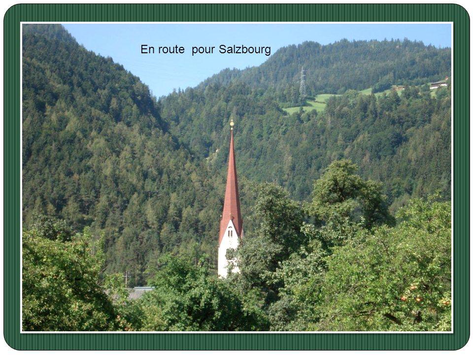 En route pour Salzbourg