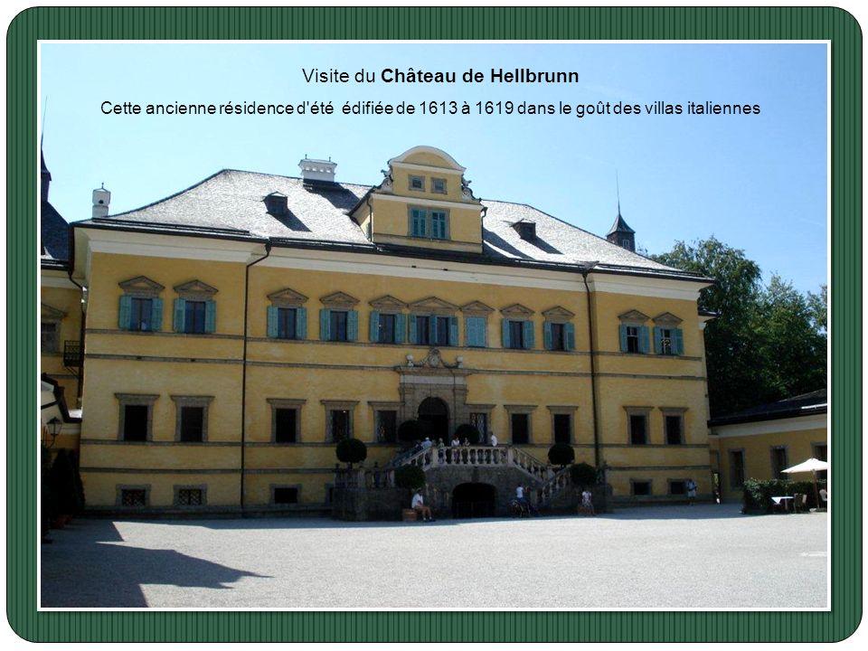Visite du Château de Hellbrunn