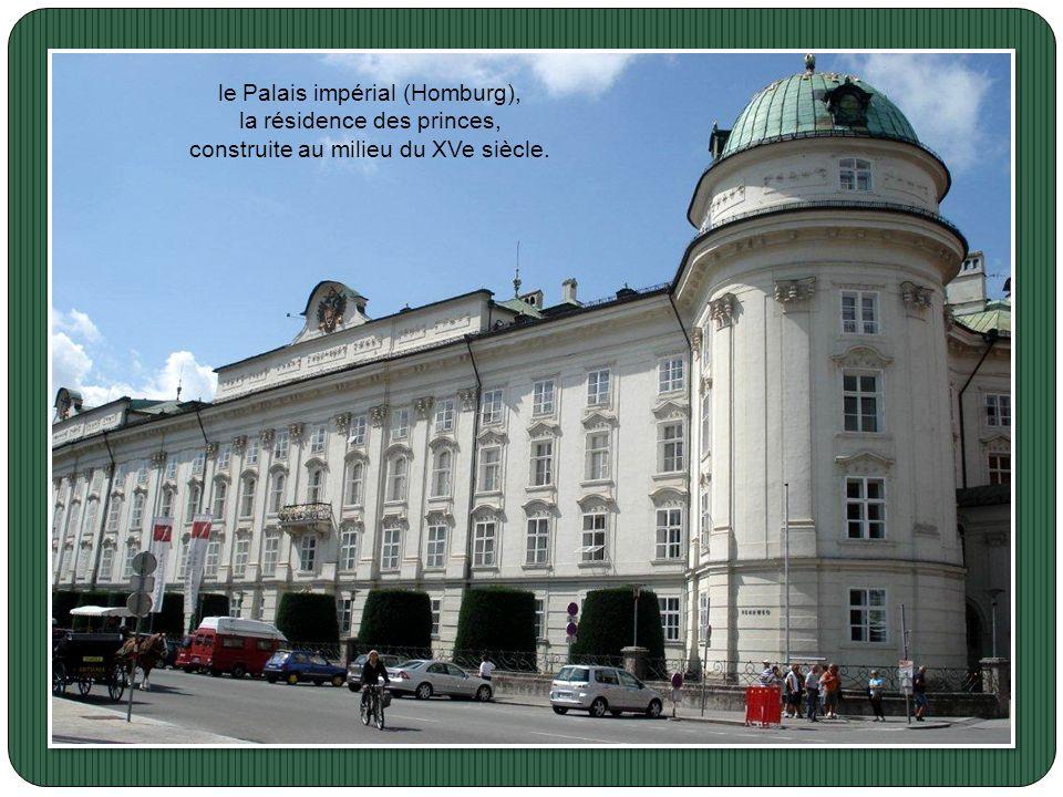 le Palais impérial (Homburg), la résidence des princes,