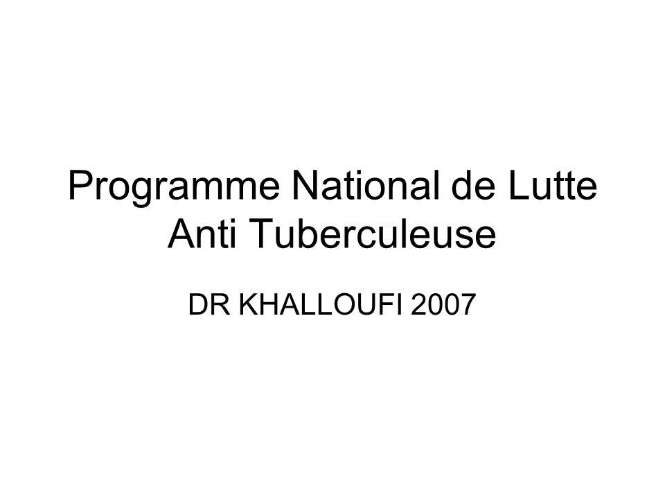 Programme National de Lutte Anti Tuberculeuse