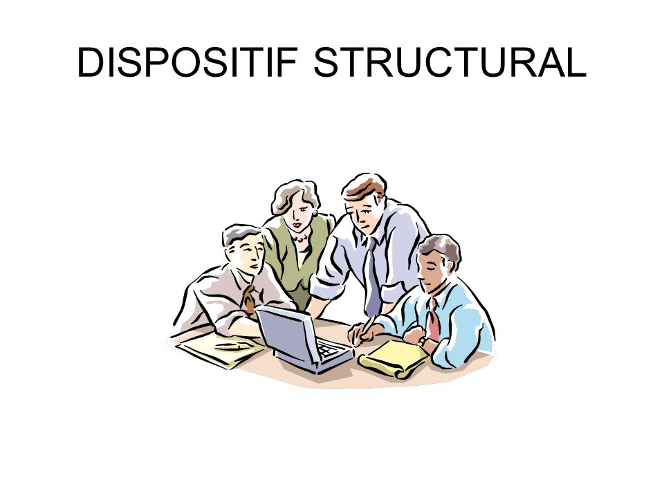 DISPOSITIF STRUCTURAL