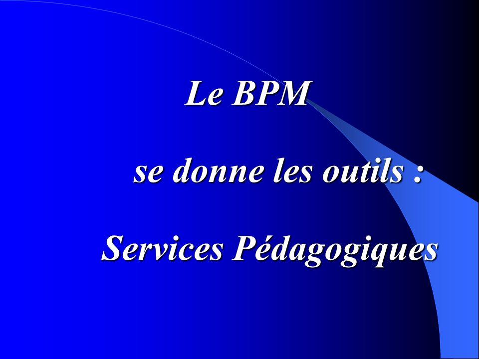 Services Pédagogiques
