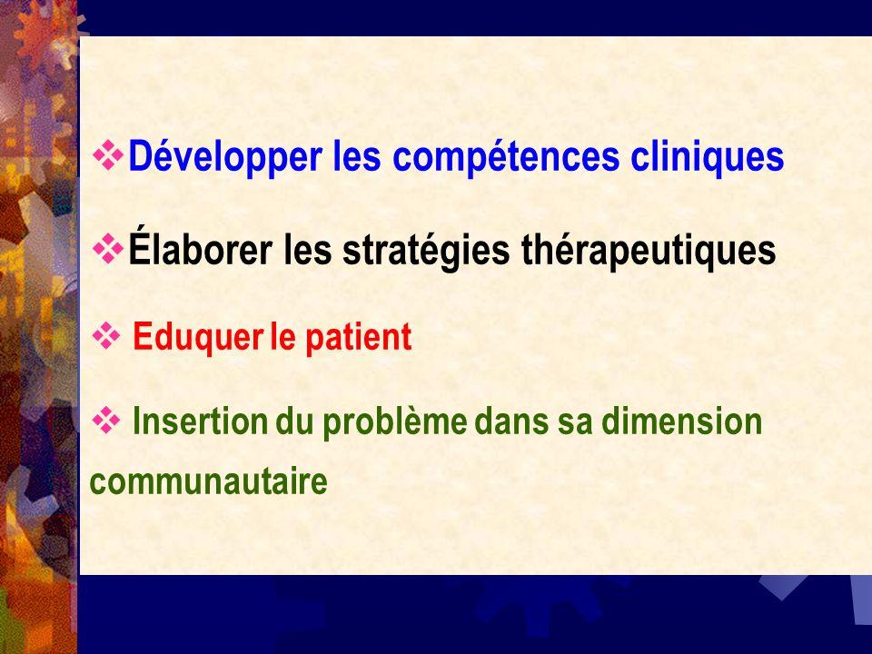 Développer les compétences cliniques