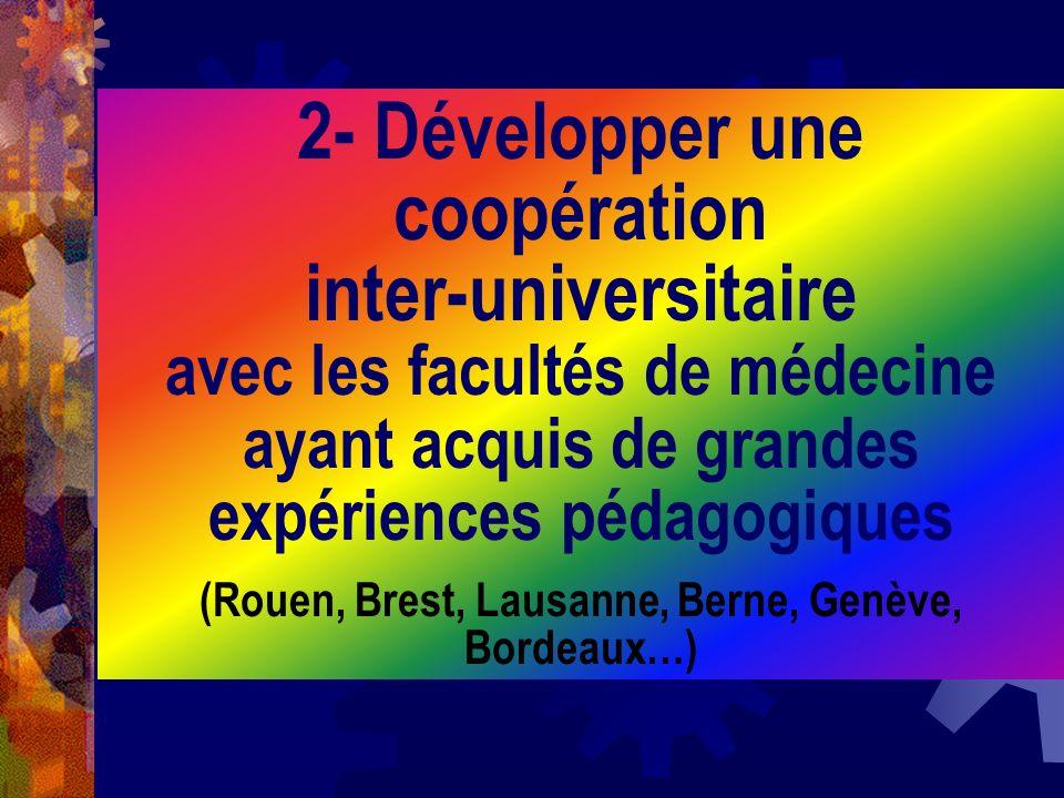 (Rouen, Brest, Lausanne, Berne, Genève, Bordeaux…)