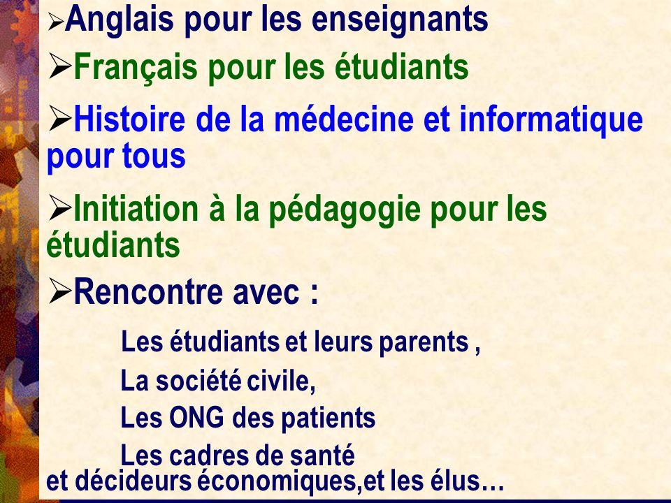 Français pour les étudiants