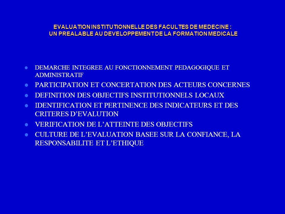 PARTICIPATION ET CONCERTATION DES ACTEURS CONCERNES