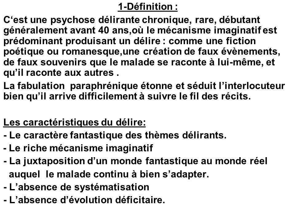 1-Définition :