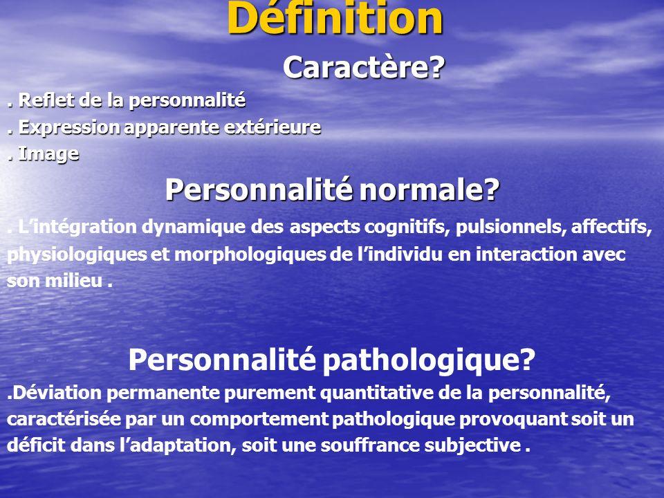 Personnalité pathologique