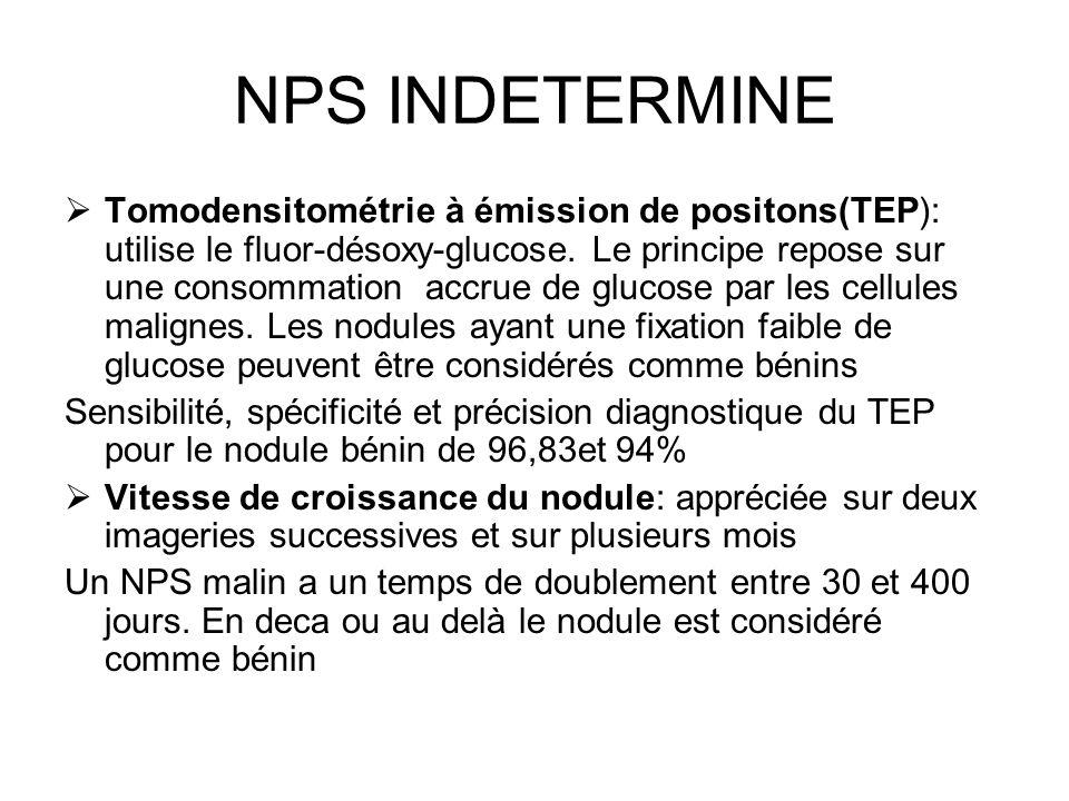 NPS INDETERMINE
