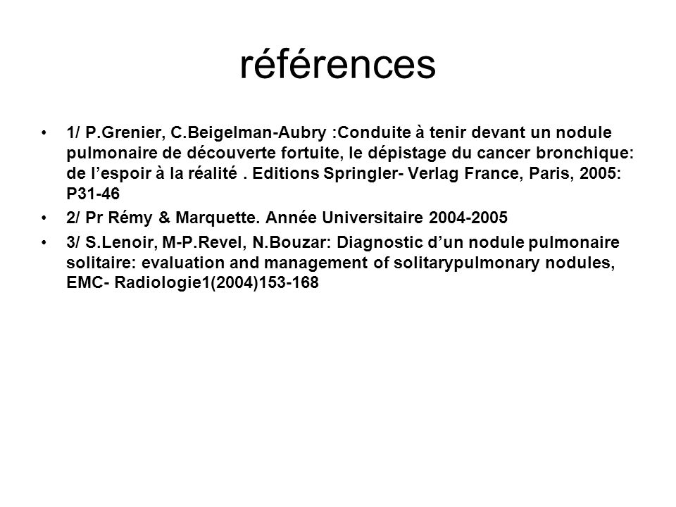 références