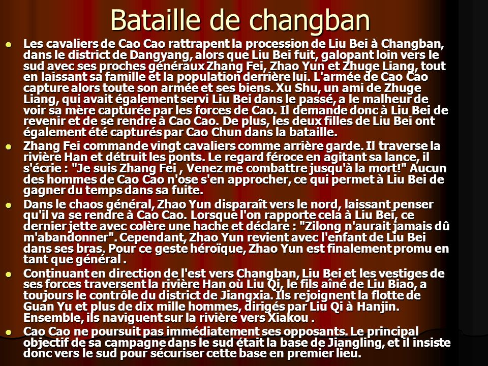 Bataille de changban
