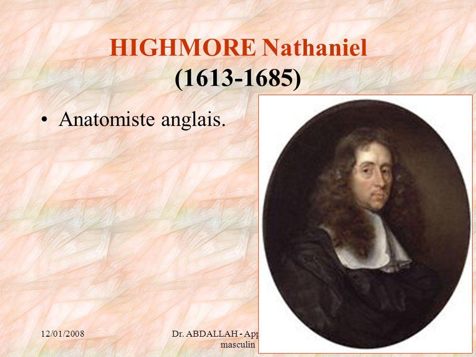 HIGHMORE Nathaniel (1613-1685)