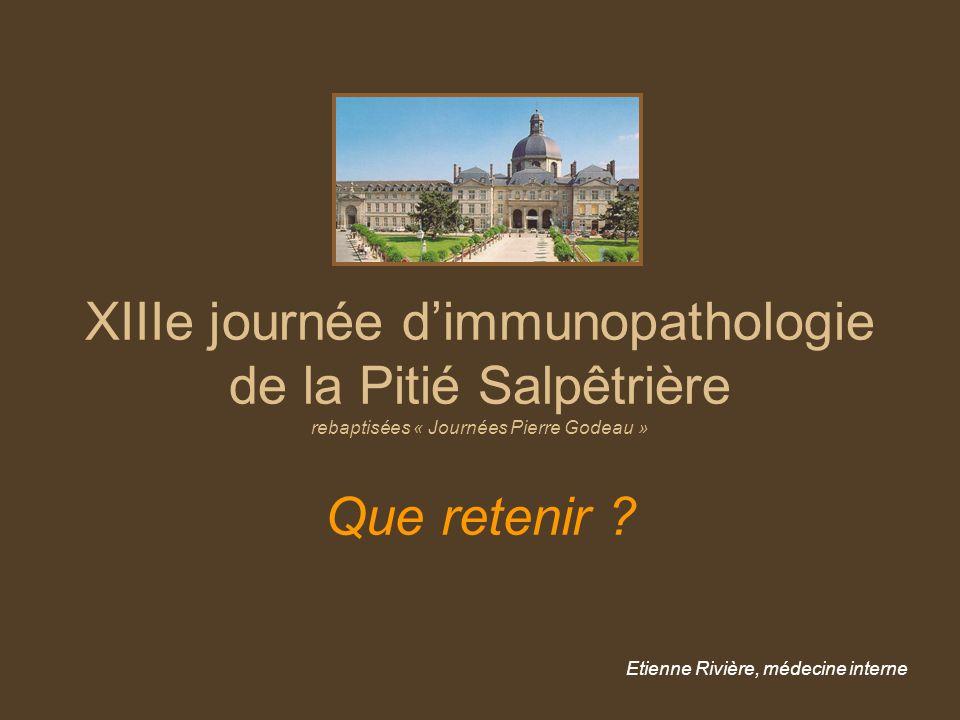 Etienne Rivière, médecine interne