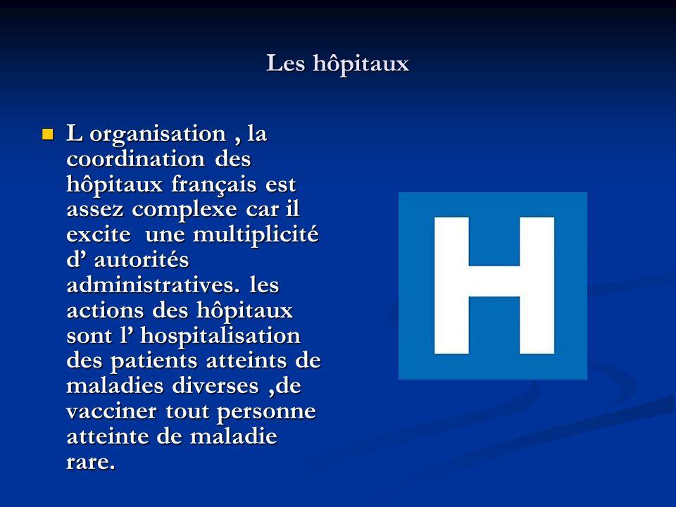 Les hôpitaux